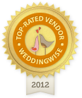 WeddingWise.co.nz Top-rated Vendor Award 2012
