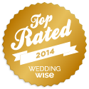 WeddingWise Awards - Top Rated Vendor 2013