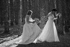 Kat & Sarah: 8950 - WeddingWise Lookbook - wedding photo inspiration