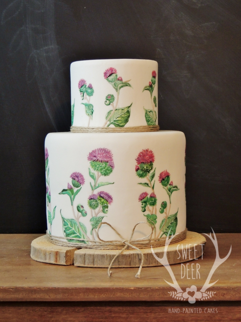 PAINTED CAKES: 10198 - WeddingWise Lookbook - wedding photo inspiration