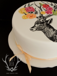 PAINTED CAKES: 10200 - WeddingWise Lookbook - wedding photo inspiration
