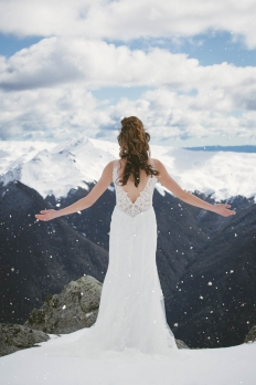 Winter elopement collection: 16978 - WeddingWise Lookbook - wedding photo inspiration