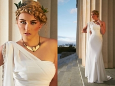 Greek Godess: 4300 - WeddingWise Lookbook - wedding photo inspiration