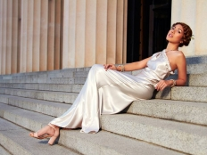 Greek Godess: 4298 - WeddingWise Lookbook - wedding photo inspiration