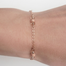 Rose Gold Bracelets: 10874 - WeddingWise Lookbook - wedding photo inspiration