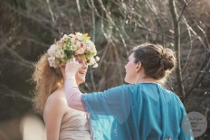 Fantasy Flower Crown : 12944 - WeddingWise Lookbook - wedding photo inspiration