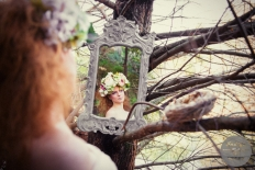 Fantasy Flower Crown : 12943 - WeddingWise Lookbook - wedding photo inspiration