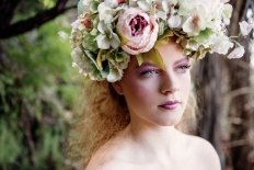 Fantasy Flower Crown : 12939 - WeddingWise Lookbook - wedding photo inspiration