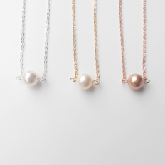 Silver Necklaces: 10886 - WeddingWise Lookbook - wedding photo inspiration