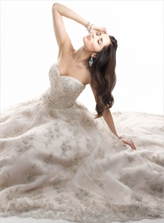 Maggie Sottero Winter Collection: 6300 - WeddingWise Lookbook - wedding photo inspiration