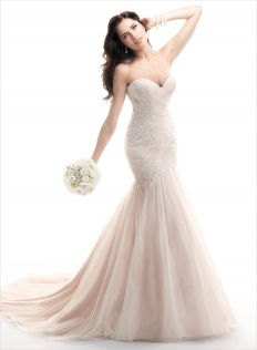 Maggie Sottero Winter Collection: 6290 - WeddingWise Lookbook - wedding photo inspiration