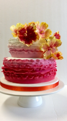 Sugar Sisters Wedding Cakes: 16041 - WeddingWise Lookbook - wedding photo inspiration