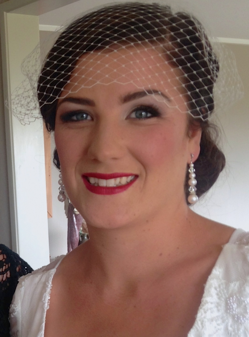 Red Lips Makeup by LILLYBETH: 15670 - WeddingWise Lookbook - wedding photo inspiration