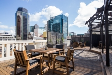Chancery Chambers Rooftop Terrace Daytime: 9994 - WeddingWise Lookbook - wedding photo inspiration