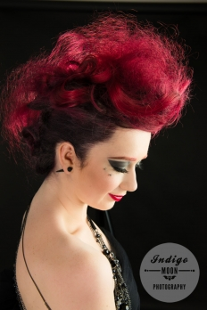 Alternative Rockstar Hair + Makeup : 15490 - WeddingWise Lookbook - wedding photo inspiration