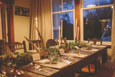 Rustic hunting lodge: 9926 - WeddingWise Lookbook - wedding photo inspiration
