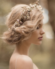 'Into the Woods' Editorial Collaboration - Model Emily @ 62 Models: 6551 - WeddingWise Lookbook - wedding photo inspiration