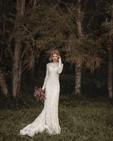 'Into the Woods' Editorial Collaboration - Model Emily @ 62 Models: 6553 - WeddingWise Lookbook - wedding photo inspiration