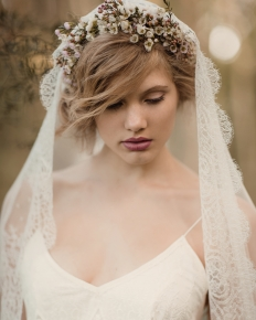 'Into the Woods' Editorial Collaboration - Model Emily @ 62 Models: 6552 - WeddingWise Lookbook - wedding photo inspiration