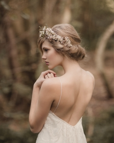 'Into the Woods' Editorial Collaboration - Model Emily @ 62 Models: 6550 - WeddingWise Lookbook - wedding photo inspiration