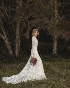'Into the Woods' Editorial Collaboration - Model Emily @ 62 Models: 6554 - WeddingWise Lookbook - wedding photo inspiration