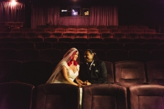 Cinema wedding - Christie and Mike: 12758 - WeddingWise Lookbook - wedding photo inspiration