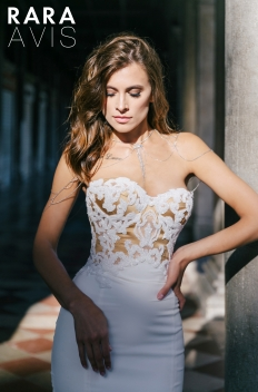 Sheath Wedding Dress: 16445 - WeddingWise Lookbook - wedding photo inspiration