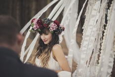 woodland winter: 11514 - WeddingWise Lookbook - wedding photo inspiration