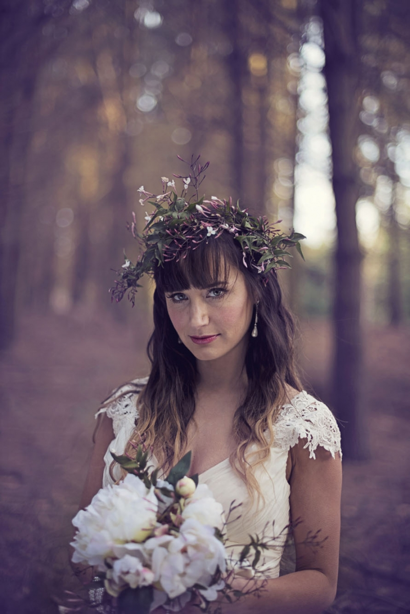 woodland winter: 11516 - WeddingWise Lookbook - wedding photo inspiration