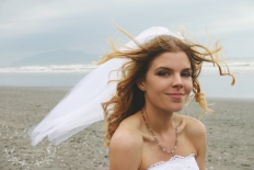 Beach Wedding: 5642 - WeddingWise Lookbook - wedding photo inspiration