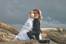 Beach Wedding: 5644 - WeddingWise Lookbook - wedding photo inspiration