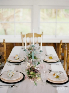 The Heirloom - Table Settings: 11489 - WeddingWise Lookbook - wedding photo inspiration
