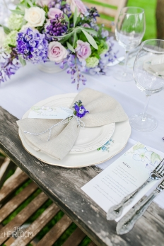The Heirloom - Table Settings: 11494 - WeddingWise Lookbook - wedding photo inspiration