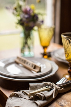 The Heirloom - Table Settings: 11495 - WeddingWise Lookbook - wedding photo inspiration