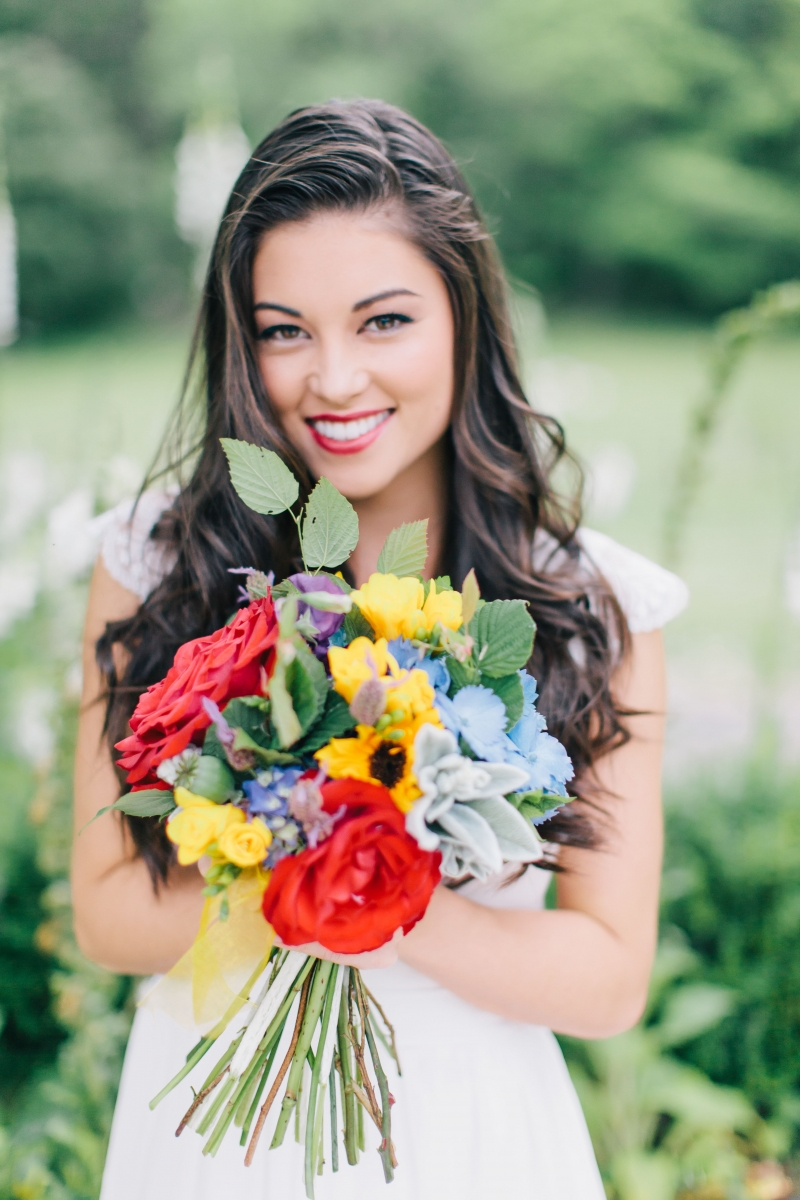 Red Lips Makeup by LILLYBETH: 4956 - WeddingWise Lookbook - wedding photo inspiration