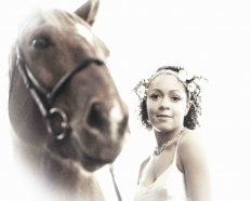 Girl & her horse - a fairytale: 13341 - WeddingWise Lookbook - wedding photo inspiration
