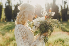 bohemian bride: 14967 - WeddingWise Lookbook - wedding photo inspiration
