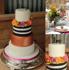 Wedding Cakes: 10091 - WeddingWise Lookbook - wedding photo inspiration