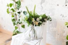 White and green wedding inspiration: 13269 - WeddingWise Lookbook - wedding photo inspiration