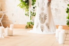 White and green wedding inspiration: 13274 - WeddingWise Lookbook - wedding photo inspiration