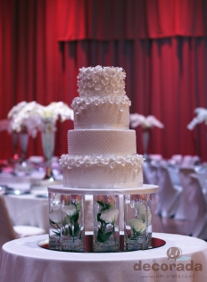 Wedding Cakes: 9962 - WeddingWise Lookbook - wedding photo inspiration