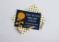 Sunflower Wedding Invitation and Save the Date: 10461 - WeddingWise Lookbook - wedding photo inspiration