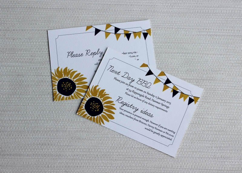 Sunflower Wedding Invitation and Save the Date: 10463 - WeddingWise Lookbook - wedding photo inspiration
