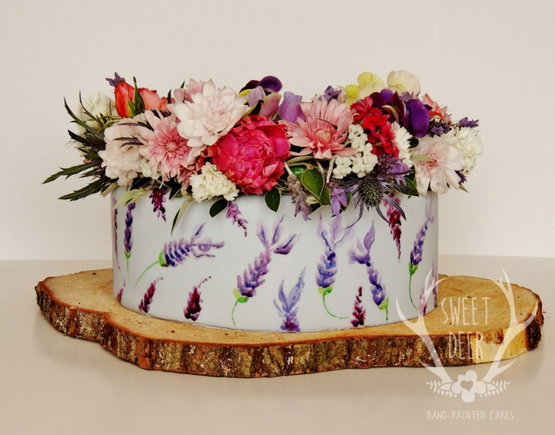 PAINTED CAKES: 10215 - WeddingWise Lookbook - wedding photo inspiration