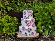 PAINTED CAKES: 10213 - WeddingWise Lookbook - wedding photo inspiration