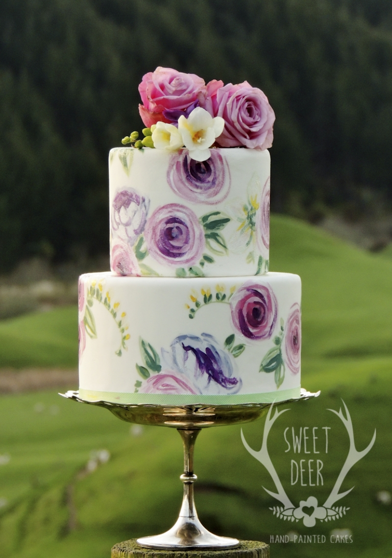 PAINTED CAKES: 10225 - WeddingWise Lookbook - wedding photo inspiration
