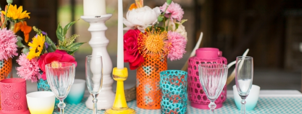 10 Ways To Balance Colour At Your Wedding - WeddingWise Articles