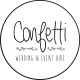 Confetti Wedding & Event Hire