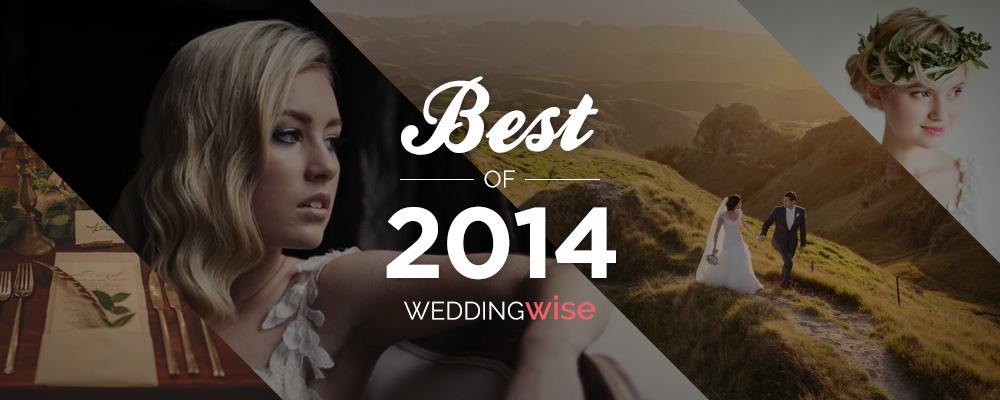 WeddingWise Awards - Best of 2014 - WeddingWise Articles