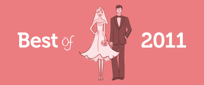 WeddingWise Awards - Best of 2011 - WeddingWise Articles